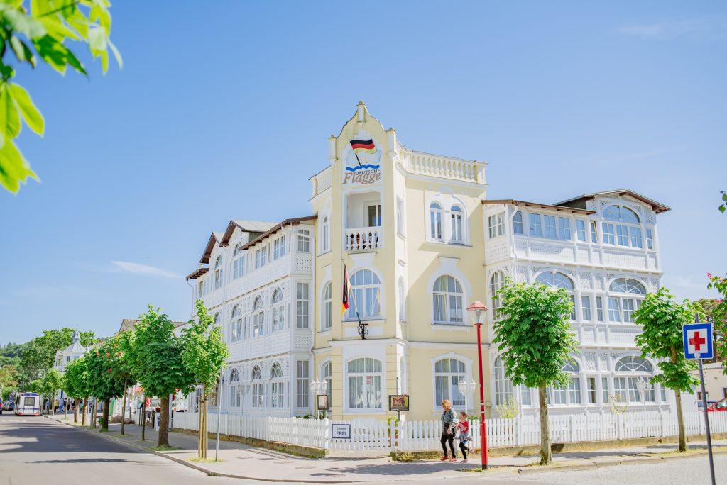 Haus Deutsche Flagge